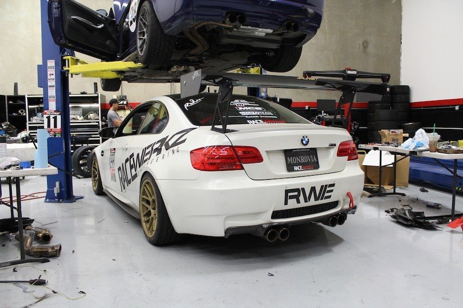 BMW E92 M3 Track Car - RaceWerkz Engineering