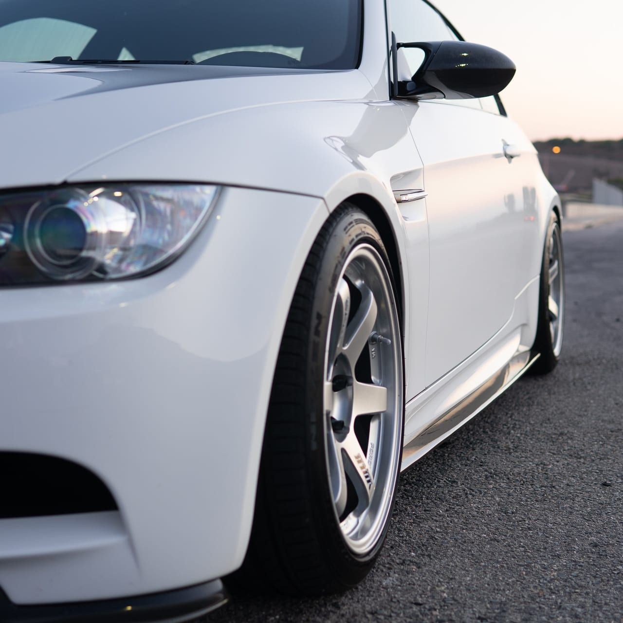 E92 M3 Side Skirt Splitter Carbon Fiber