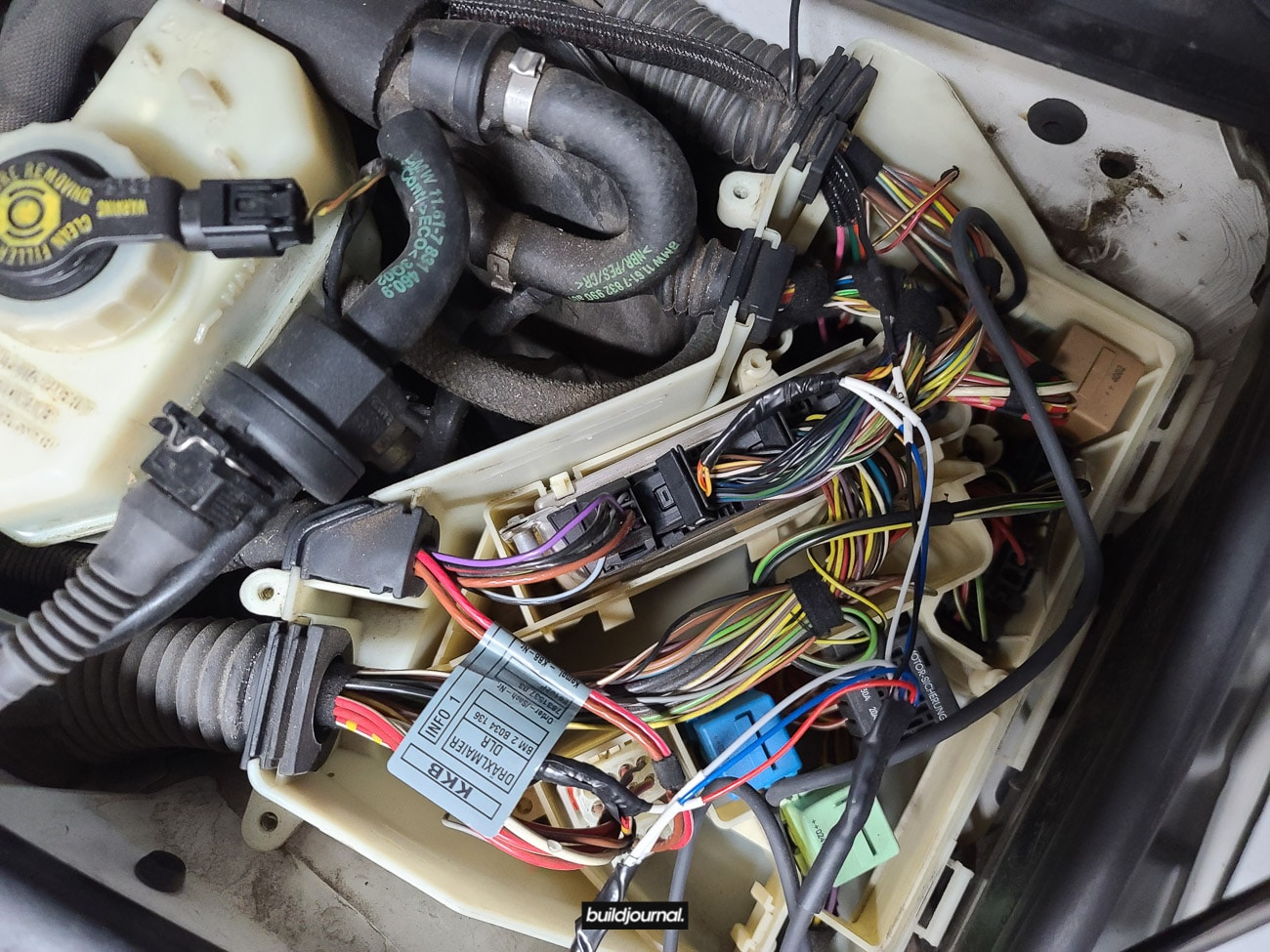 DIY to Wire MAP and IAT Sensor for MSS54HP CSL ECU