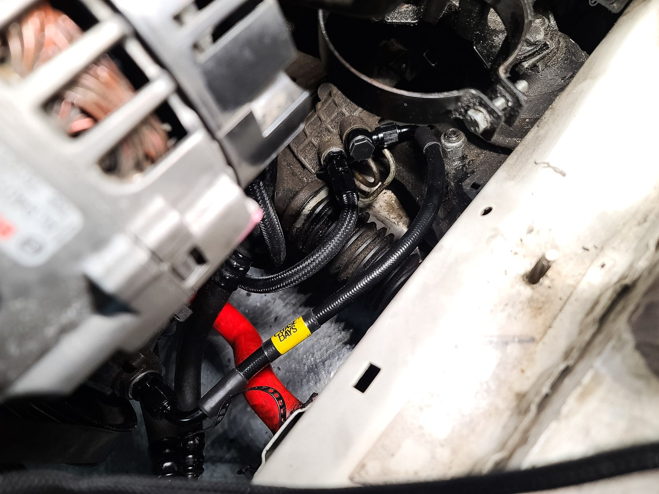 E46 M3 Power Steering Install DIY - Chase Bays