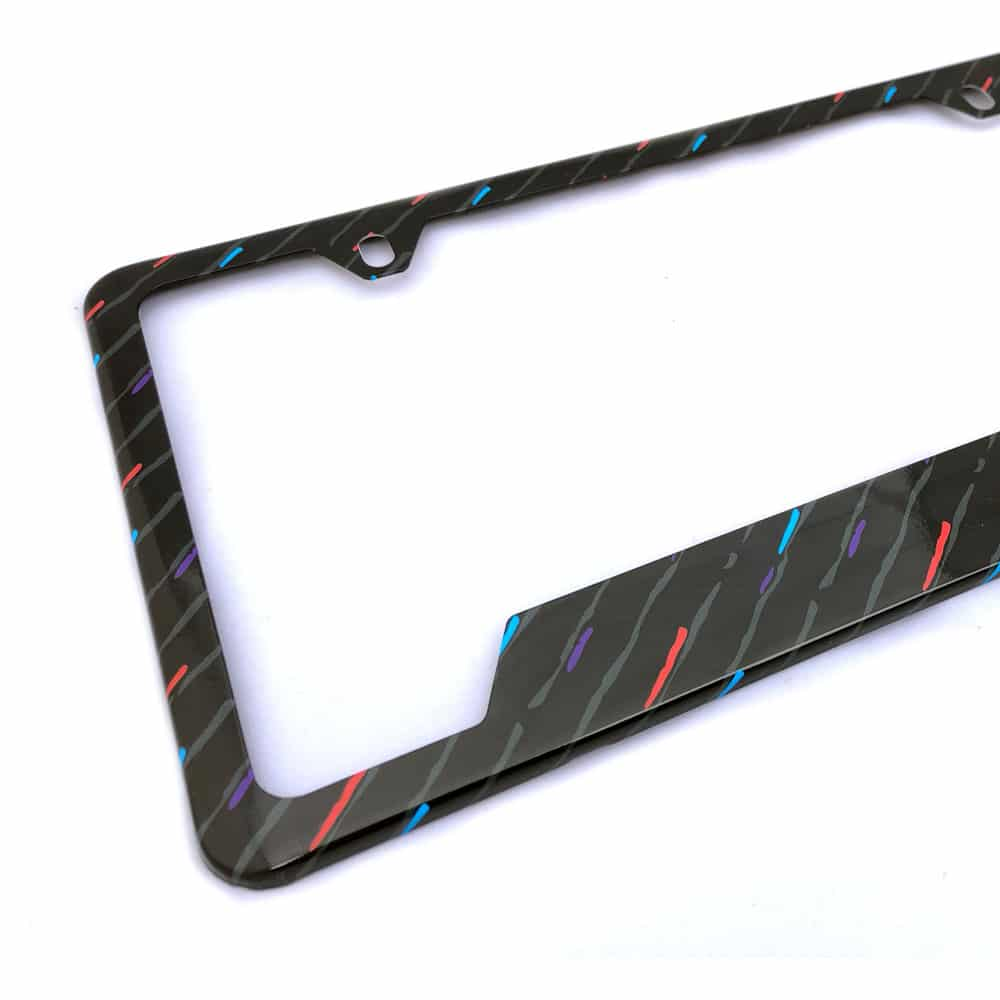 BMW M Rain License Plate Frame