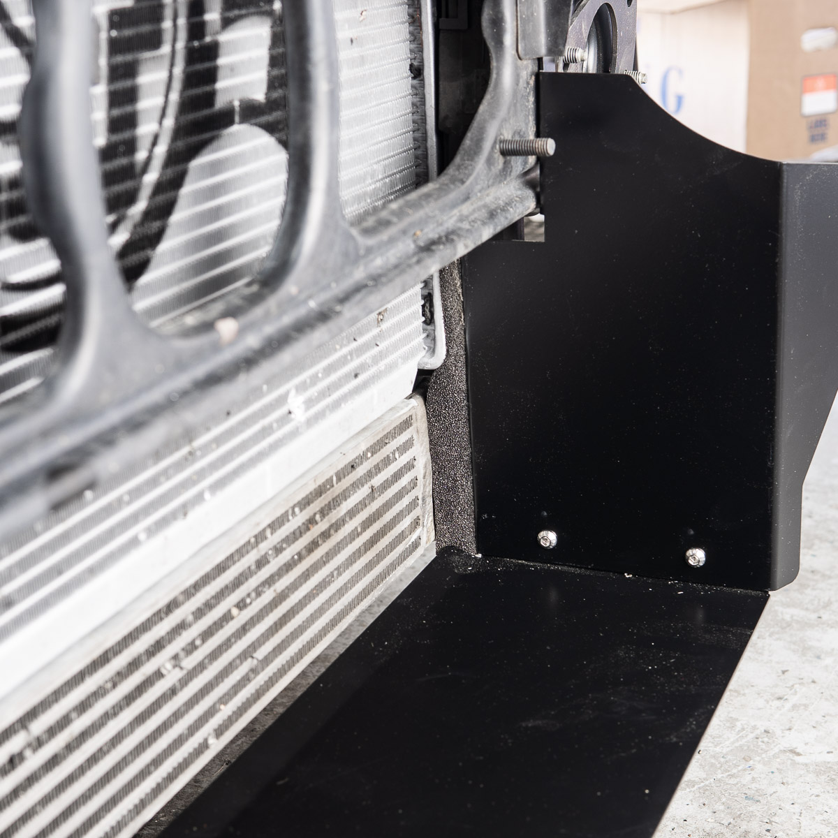 BMW E46 M3 Radiator Duct - Buildjournal
